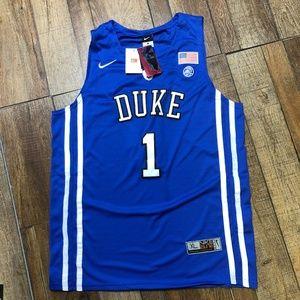 NWT Zion Williamson Duke College Nike Jersey XL